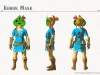 The Korok Mask in Breath of the Wild