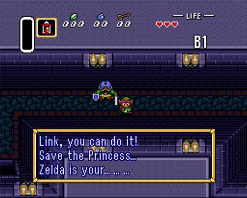 zelda is your destiny