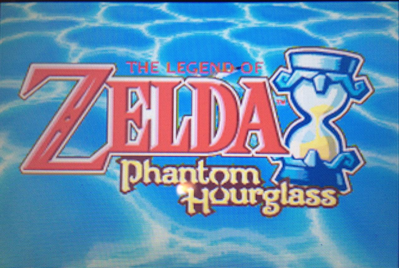 phantom hourglass title screen