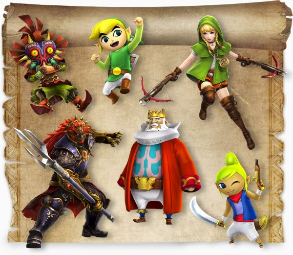 Hyrule Warriors: Legends Characters