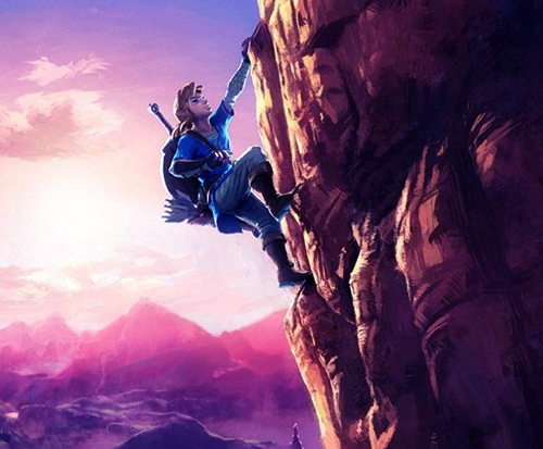 Zelda U Artwork