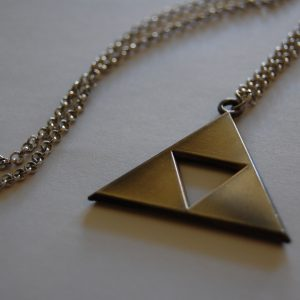 Gold Triforce Necklace - Featured