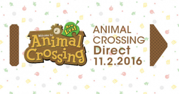 Animal Crossing Direct Nov 2