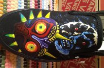 Custom Majora's Mask Shoes by Custom Plain Jane