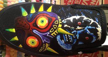 Custom Majora's Mask Shoes by Custom Plain Jane