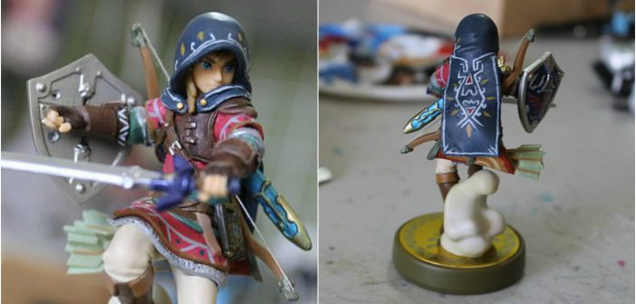 Take a Look at This Impressive Custom Link Amiibo