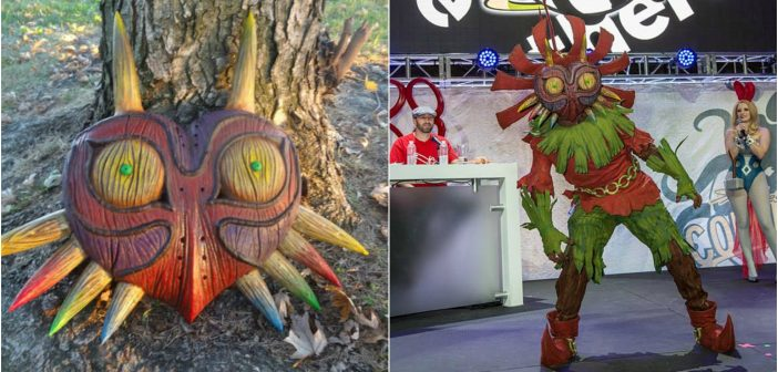 Check out This Awesome Real-Life Majora's Mask