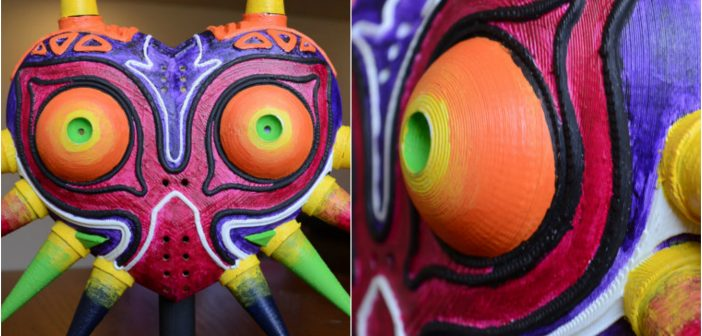 Get a Look at This 3D Printed Majora's Mask Prop