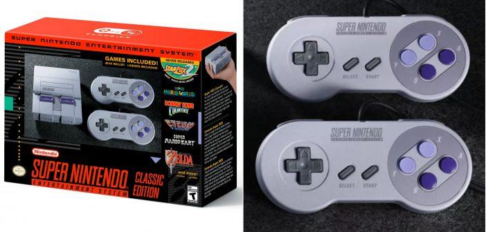 Nintendo Reveals the Super NES Classic Edition