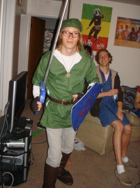 legend of zelda  sc 1 st  Hidden Triforce & Memberu0027s Link Halloween Costume