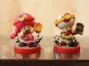 AK Shop 08's Custom Captain Toadette and Captain Toad Amiibo