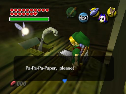 Origin Of Zelda Hand In Toilet
