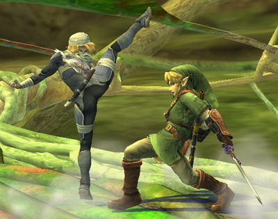 sheik in super smash bros brawl
