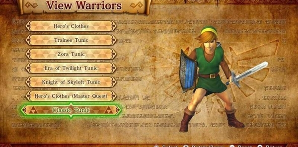 Free Classic Link Tunic Dlc Comes To Hyrule Warriors
