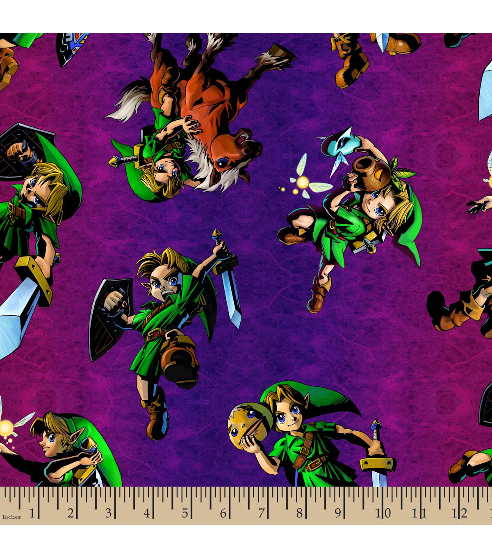 Legend Of Zelda Fabric Coming To Jo Ann Fabrics