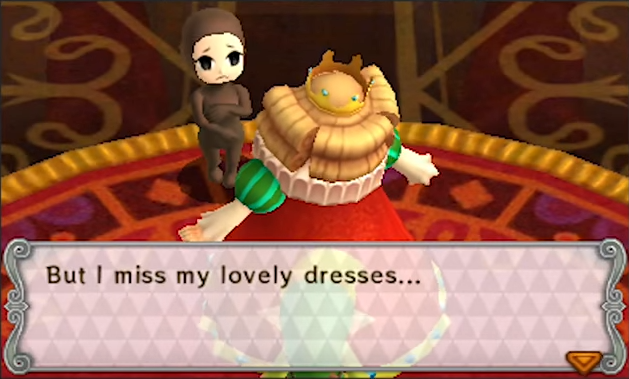 tri force heroes sexist
